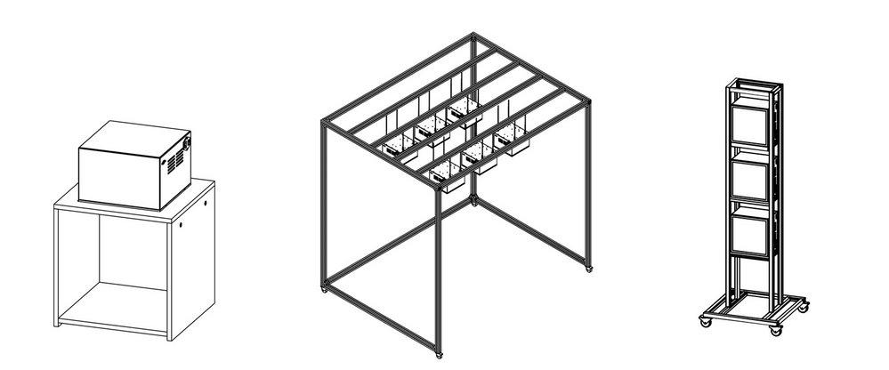 LEDCube - Flexible installation