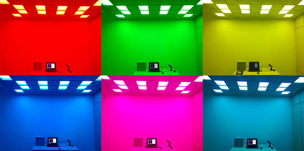 LEDCube - Dynamic lighting